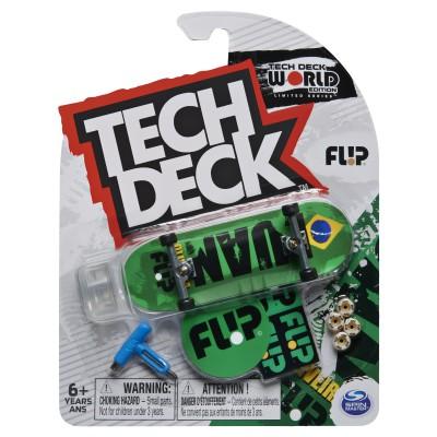 Tech Deck 96mm Fingerboard M16 - Flip Green