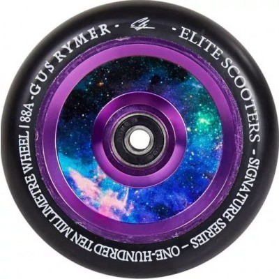 Elite Air Ride Floral Scooter wheels 110mm - Black/Galaxy