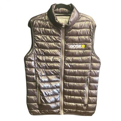 Gosk8 Vest Jacket - Black