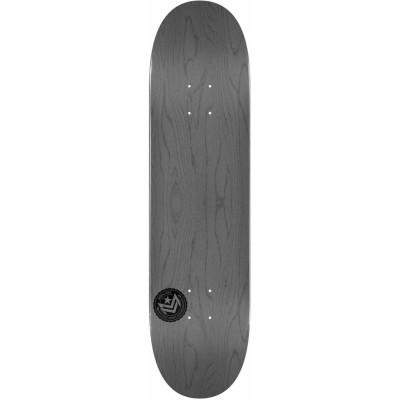 "Mini Logo Chevron Stamp Skateboard Deck 7.75"" - Grey"