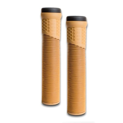 Drone Standard Scooter Grips - Gum Brown