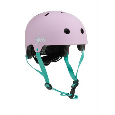 SFR Adjustable Kids Helmet - Pink / Green