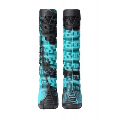 Blunt V2 Scooter Grips - Teal/Black