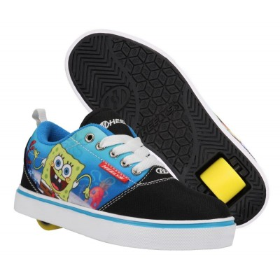 Heelys X Spongebob PRO 20 Prints (HES10361) - Black/Multi Canvas