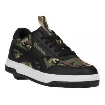 Heelys X Reebok CL Court Low (HE100941) - Black/Capulet Olive/Safari