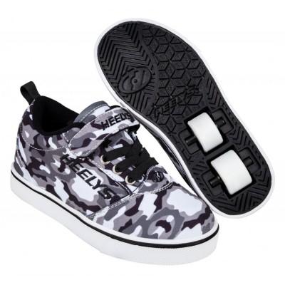 Heelys X2 Pro 20 (HE100723) - Black/White/Camo