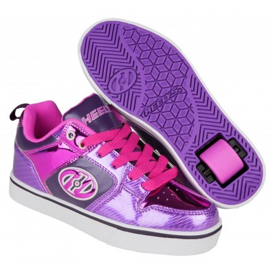 Heelys Motion Plus (HE100384)- Purple/Pink Shimmer/Grape