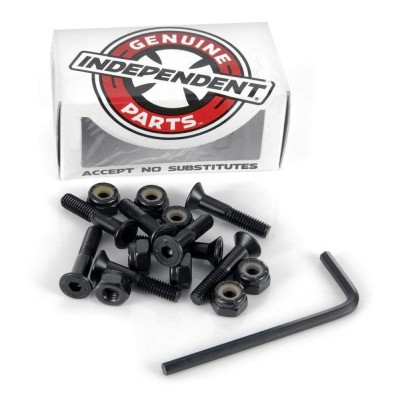 "Indy Skateboard Bolts Allen 1"" - Black"