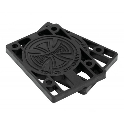 "IIndy Riser Pads 1/8"" (Pack of 2) - Black"