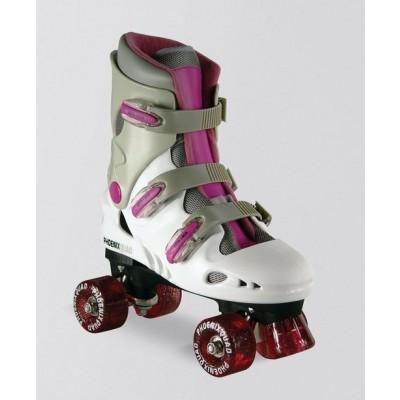 SFR Phoenix Kids Quad Roller Skates - Pink