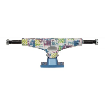 "Krux Pro Nora Pattern Standard Skateboard Trucks - Multi 7.6"""