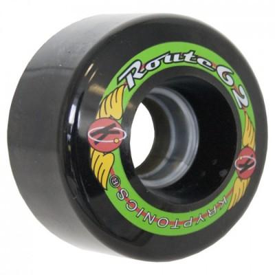 Kryptonics RouteRoller Skate Wheels  62mm - Black