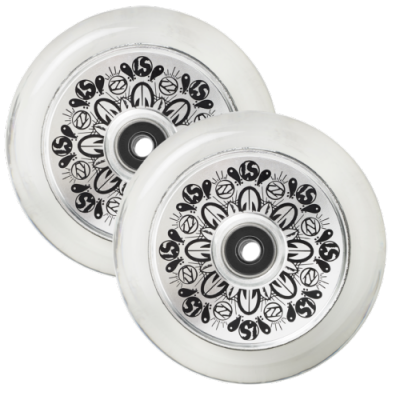 Fuzion Leo Spencer 110mm Signature Scooter Wheels (Pair)