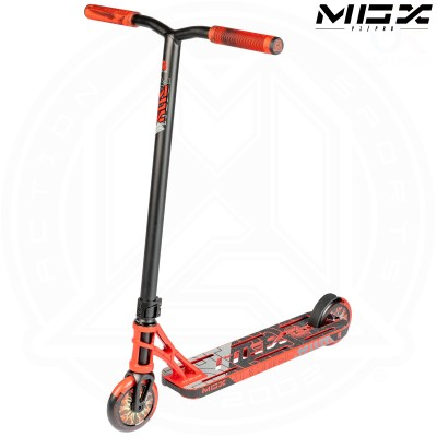 "MGP MGX P1 PRO 4.5"" Scooter - Red/Black"