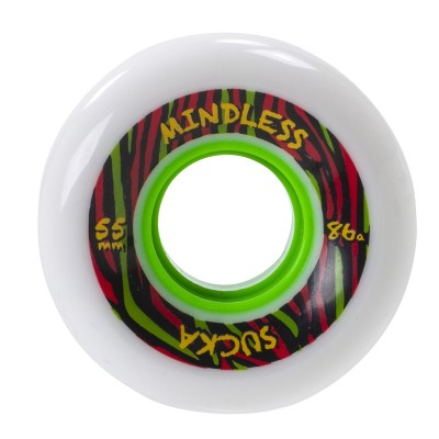 Mindless Sucka Skateboard Wheels - White