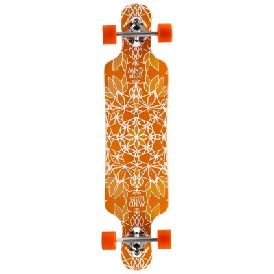 Mindless Sanke III Complete Longboard - Orange