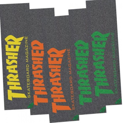 """MOB Graphic Grip Thrasher Skate Mag (5 pack) - 9"""""""