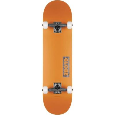 """Globe Goodstock Skateboard 8125"""" - Neon Orange"""