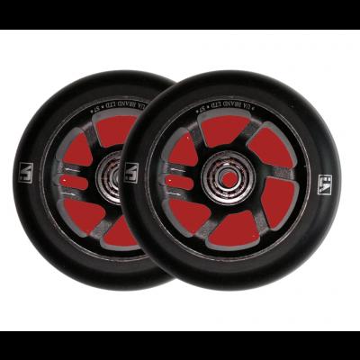 UrbanArtt S7 Scooter Wheels 100mm Black/Black