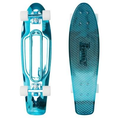 "Penny Cruiser - Blue Metallic Solid Blue 27"""