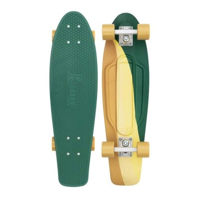 Penny  Cruiser Swirl - Green/Yellow 27""