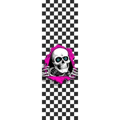 "Powell Peralta Skateboard Grip Tape - Ripper Checker 9"""