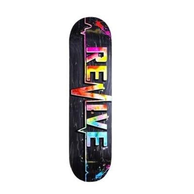 """Revive 3.0 Tie Dye Skateboard Deck - 8"""""""