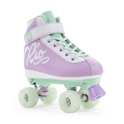 Rio Roller Milkshake Quad Skates - Mint Berry