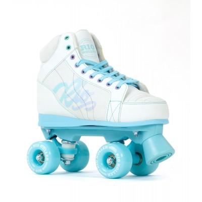 Rio Roller Lumina Quad Skates - White / Blue