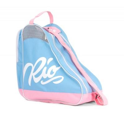 Rio Roller Script Skate Bag - Blue/Pink