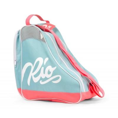 Rio Roller Script Skate Bag - Teal / Coral