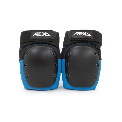 REKD Ramp Knee Pads - Black/Blue