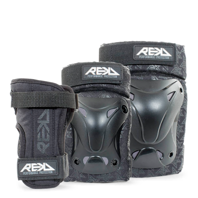 REKD Recreational Triple Pad Set - Black