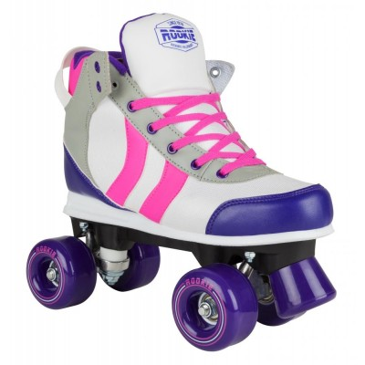 Rookie Deluxe Roller Skates - Pink/Grey/Purple