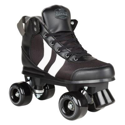 Rookie Deluxe Roller Skates - Black/White/Grey