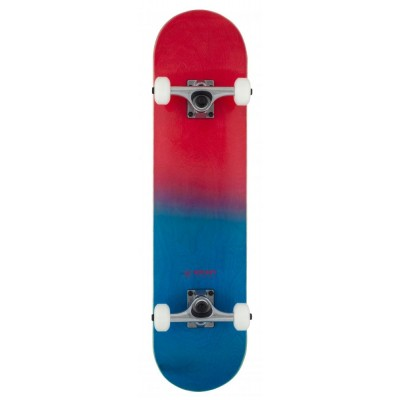 Rocket Double Dipped Complete Skateboard - Red 7.5""
