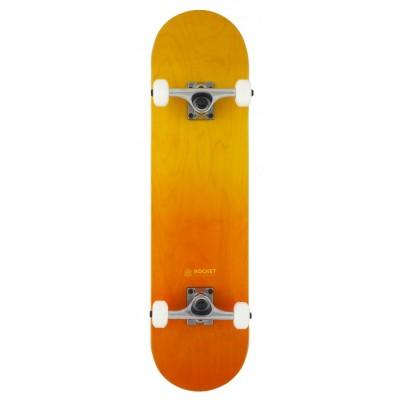 "Rocket Double Dipped Complete Skateboard - Orange 8"""