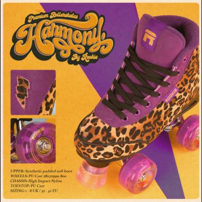 Rookie Harmony Leopard Roller Skates