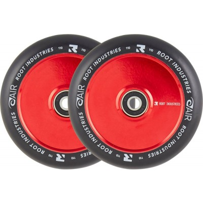 Root Air Pro Scooter Wheels -  Black/red