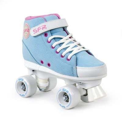 SFR Vision Sneaker Quad Roller Skates - Blue