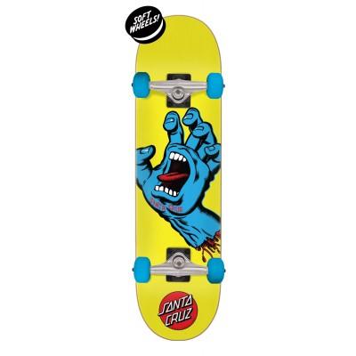 "Santa Cruz  Screaming Hand Complete Skateboard Multi - 7.75"""