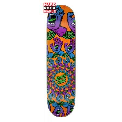 """Santa Cruz Mandala Hand Price Point Skateboard Deck Multi - 8.125"""""""