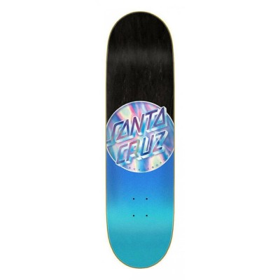 "Santa Cruz Iridescent Dot Price Point Skateboard Deck Blue - 8.5"""