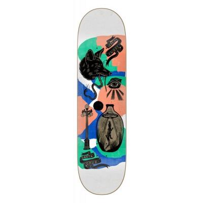 "Santa Cruz Knibbs Seeker Pro Skateboard Deck Multi  - 8.25"""