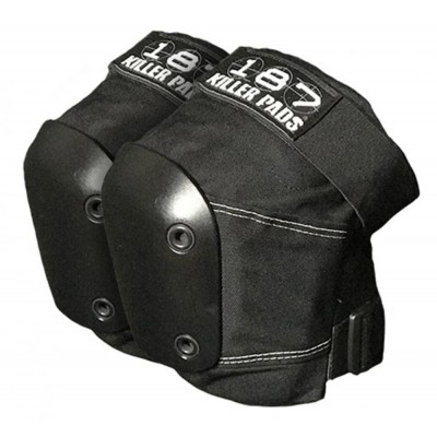 187 Killer Adult Slim Knee Pads - Black