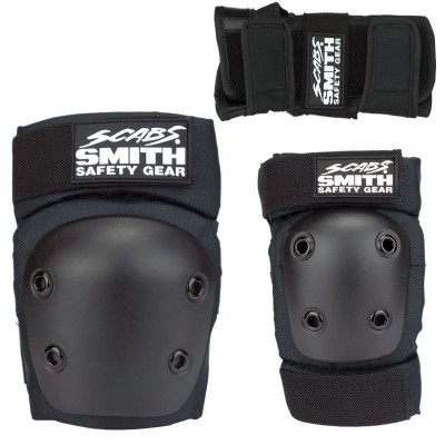 Smith Scabs Youth Triple Set - Black