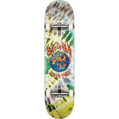 """Globe G1 Ablaze Tie Dye Complete Skateboard - 7.75"""""""