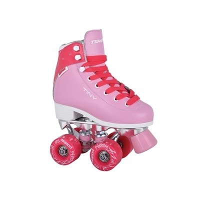 Tempish Tiny Taffy Quad Roller Skates - Pink