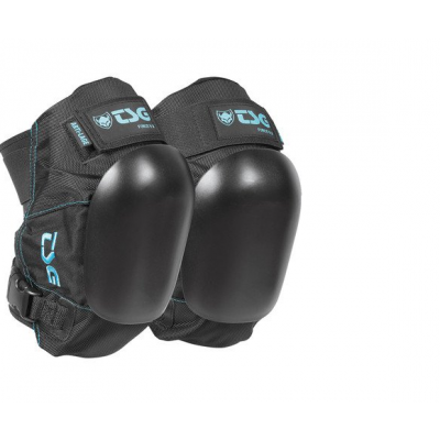 TSG Force V Knee Pads - Black/blue