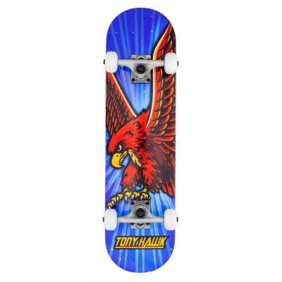 Rocket Fade Series Complete Skateboard - Red/Black 8""